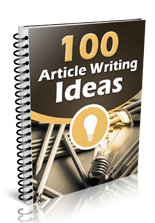 100ArticleWritingIdeas mrrg 100 Article Writing Ideas