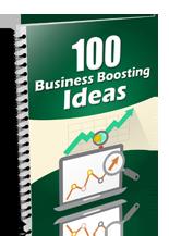 100BizBoostingIdeas mrrg 100 Business Boosting Ideas