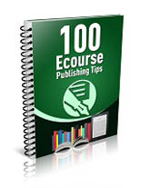 100EcoursePubTips mrr 100 Ecourse Publishing Tips