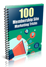 100MmbrshpMrktngTricks plr 100 Membership Site Marketing Tricks