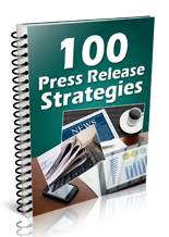 100PressReleaseStrat mrrg 100 Press Release Strategies