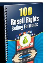 100RRSellingFormulas plr 100 Resell Rights Selling Formulas