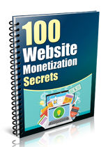 100WebMonetizationSec plr 100 Website Monetization Secrets
