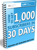 1KSubscribers30Days mrr 1000 Subscribers in 30 Days