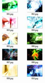 AbstractImageColl rr Abstract Image Collection