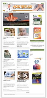 AcidRefluxNicheBlog plr Acid Reflux Niche Blog