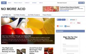 Acid Reflux PLR Site 300x188 Acid Reflux Blog