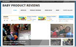 BabyProductReviewSite plr Baby Product Review Website