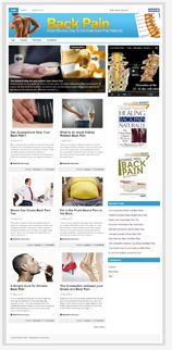 BackPainNicheBlog plr Back Pain Niche Blog