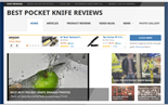 BestPocketKnifeSite plr Pocket Knife Review Website