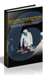 BuildNetworkAffordably mrr Building Your Network Marketing Affordably