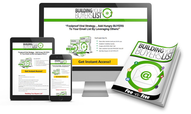 Building Your Buyers List Building Your Buyers List