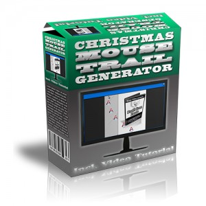 ChristmasMouseTrailGenerator Christmas Mouse Trail Generator