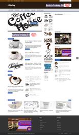 CoffeeShopBlog p Coffee Shop Niche Blog