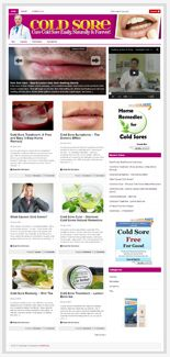 ColdSoreNicheBlog plr Cold Sore Niche Blog