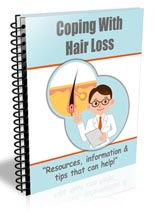 CopeHairLossEcourse plr Coping with Hair Loss Ecourse