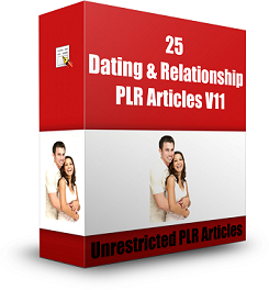 DatingRelationshipV11 m 25 Dating & Relationship PLR Articles V11