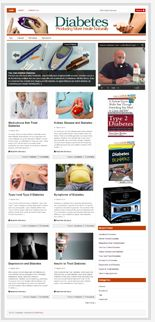 DiabetesNichBlog plr Diabetes Niche Blog