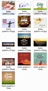 EasterPosters plr Easter Posters