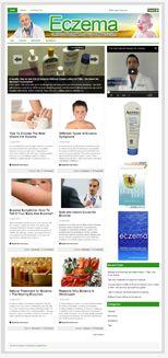 EczemaNicheBlog plr Eczema Niche Blog