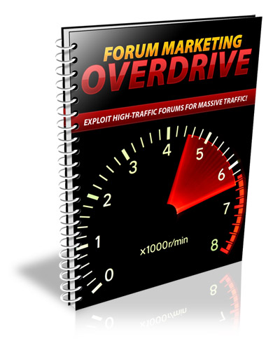 ForumMarketingOverdrive Forum Marketing Overdrive