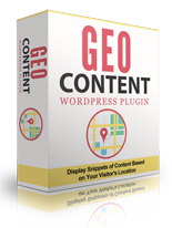 GeoContentWPPlugin p GeoContent WordPress Plugin