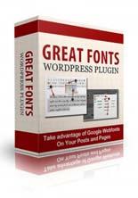 GreatFontsPlugin puo Great Fonts Wp Plugin