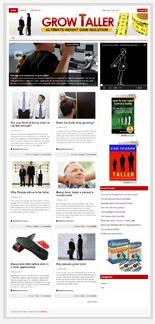 GrowTallerBlog plr Grow Taller Niche Blog