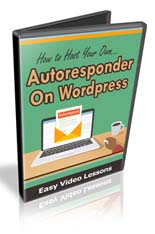 HostAutoresponderOnWP mrr How To Host Your Own Autoresponder On WordPress