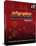 InfographicsBuilder2 puo Infographics Builder PSD Kit 2