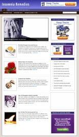 InsomniaRemedyBlog pflip Insomnia Remedies Niche Blog