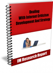 InternetCriticism med 218x300 Dealing With Internet Criticism Development And Strategy