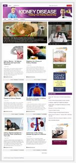 KidneyDiseaseBlog plr Kidney Disease Niche Blog