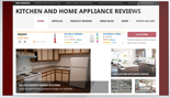 KitchenAndHomeApplianceSite plr Kitchen & Home Appliance Review Website