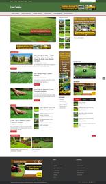 LawnServiceBlog p Lawn Service Niche Blog