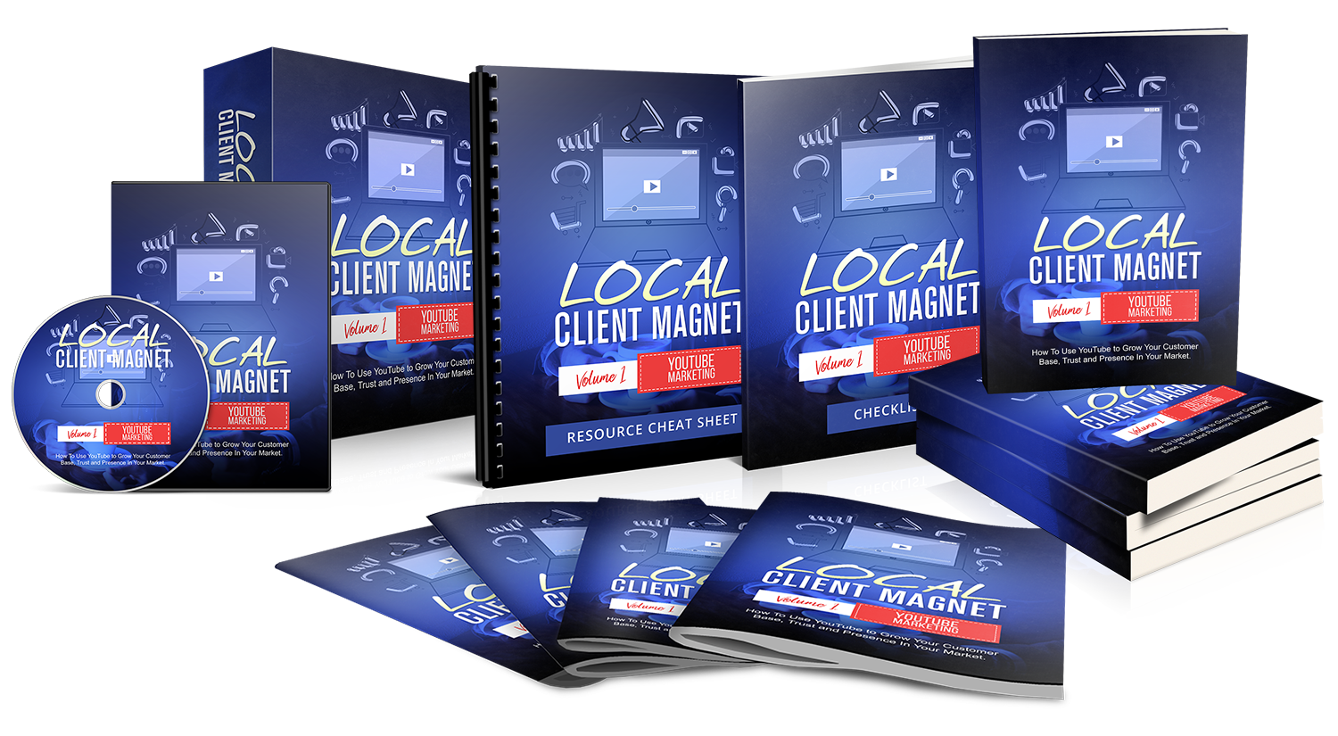 Local Client Magnet Volume 1 YouTube Marketing Local Client Magnet Volume 1 YouTube Marketing