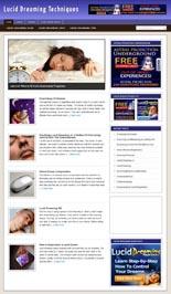 LucidDreamBlog p Lucid Dreaming Niche Blog