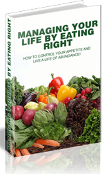 ManagingLifeEatRight plr Managing Your Life By Eating Right