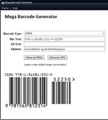 MegaBarcodeGenerator rr Mega Barcode Generator