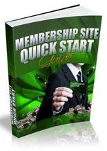 MembershipQuickStart mrr Membership Site Quick Start