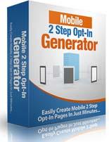 Mobile2StepOptInGen mrr Mobile 2 Step Opt In Generator