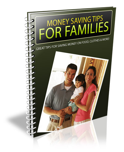 MoneySavingTipsforFamilies Money Saving Tips for Families