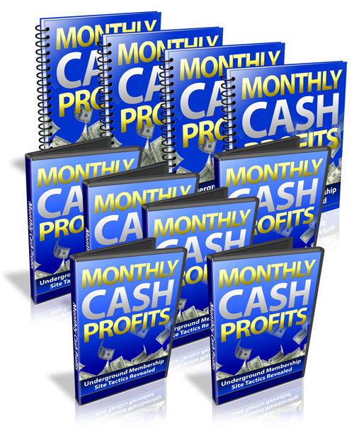 Monthly Cash Profits Monthly Cash Profits