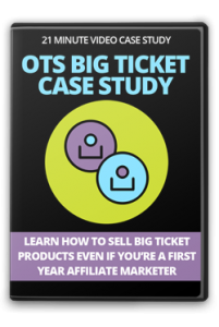 OTSBigTicketCaseStudy OTS Big Ticket Case Study