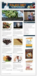 PaleoDietNicheBlog plr Paleo Diet Niche Blog