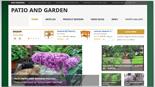 PatioAndGardenSite plr Patio and Garden Review Website