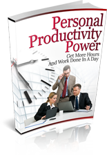 PersonalProductivity mrr Personal Productivity Power