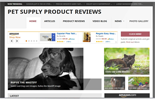 PetSupplyProductSite plr Pet Supply Review Website