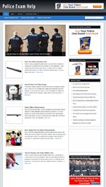 PoliceExamBlog p Police Exam Niche Blog