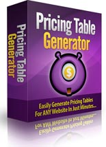 PricingTableGenerator p Pricing Table Generator Software